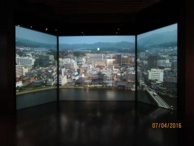 松江城の歴史CG展示