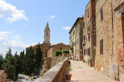 ピエンツァ市街の歴史地区