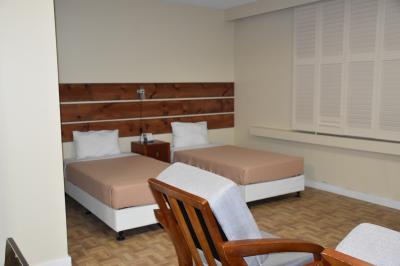 左右に2つずつベッドがありました