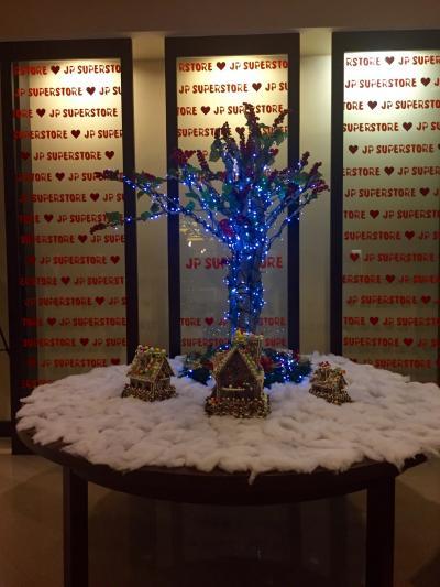クリスマス時期のロビー