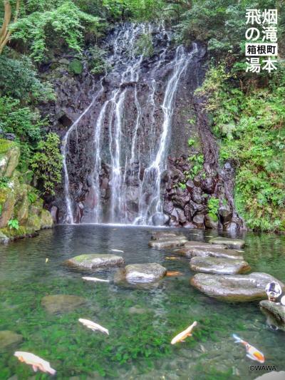 玉簾神社の横にある飛烟の瀧