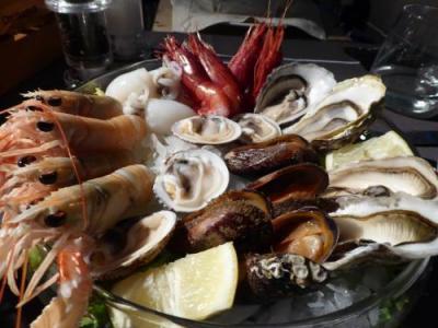 やっぱり美味しい♪しかも気兼ねなくのんびとり魚介を楽しめる雰囲気が好きです♪