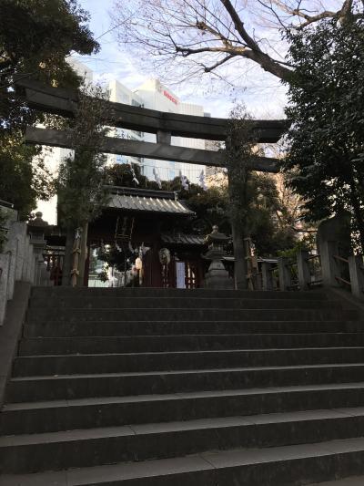 駅から近くの静かな神社