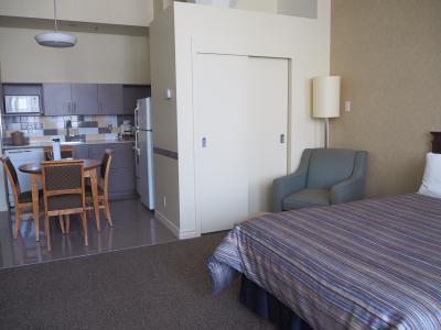 立地もよく、滞在型の快適ホテル