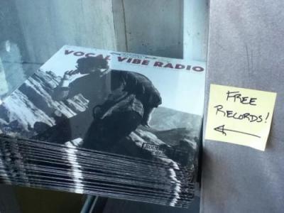 無料のレコードがもらえました
