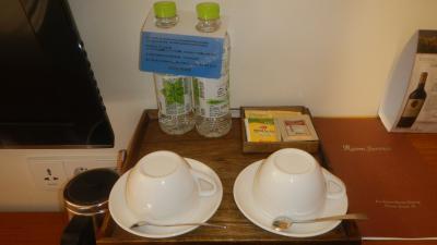 高麗人参茶+お砂糖、玄米茶のような風味のお茶。