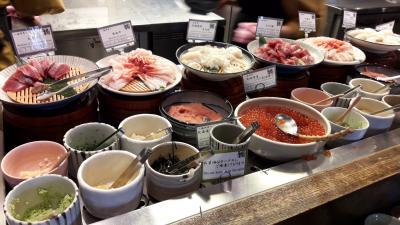 海鮮丼コーナー(朝食)