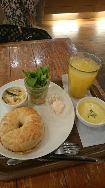ベーグル&ベーグル アッセ広島(カフェ)店