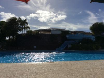 静かなプール