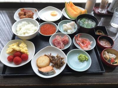 朝食がスゴイ!!