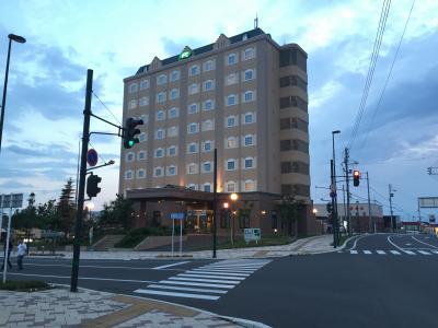 知床観光の入り口にあるホテル