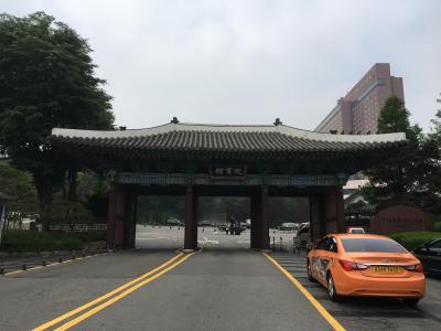 ホテルの正門です。
