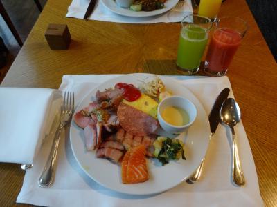 クオリティの高い朝食ヴュッフェです。