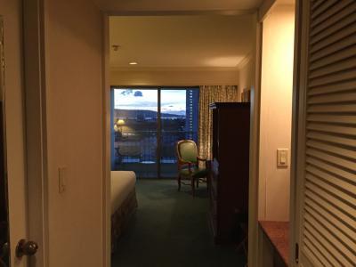 アメリカムード満点の大型ホテルです。