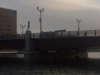 釧路の夕陽