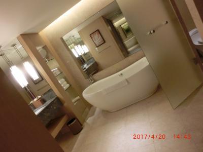 お湯が出なくては入れなかった711号室の素敵なバスタブ