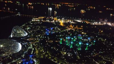 展望台からの綺麗な夜景