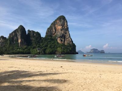独特な景観が美しいビーチ