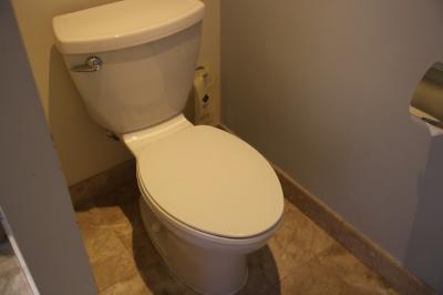 トイレはウォシュレットなし
