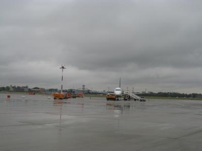 帰国時利用したリナーテ空港