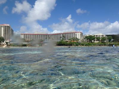 海からのホテル