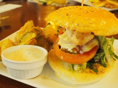 ディナーの期間限定ハンバーガーセット