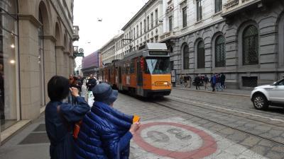 ミラノの街並みを車窓見学 ★ トラム