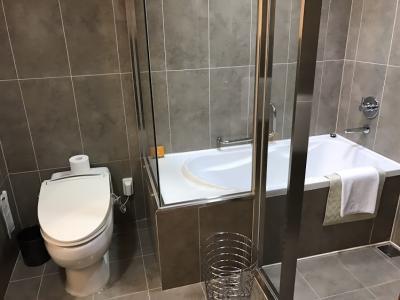 キレイに掃除されて快適なバスルームでした