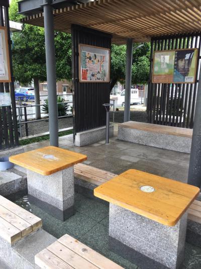 湯田温泉 足湯 (湯田温泉駅前)