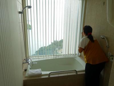 風呂からの景色は最高