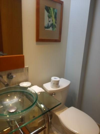 洗面台のボールが小さい。お風呂のシャワーはとり外し可能!