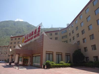 広くて立派なホテル