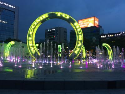 釜山駅前広場