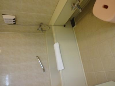洗い場があり、日本人には、ありがたいです。
