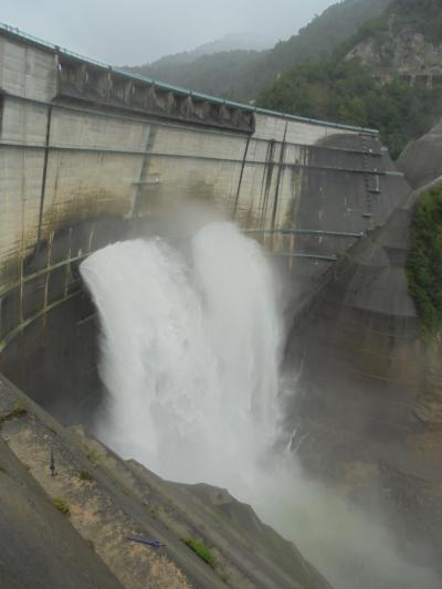 黒部ダム観光放水~ダイナミックな放水と大自然のパノラマ~