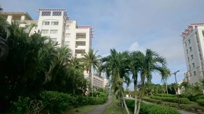 敷地内は広く、朝、散歩すると気持ちいいです。