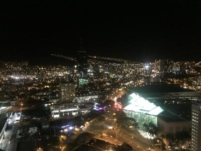 ラナイからの夜景