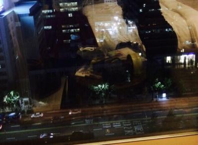 ホテルから見える外の景色です