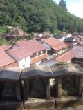 石見銀山の村の中