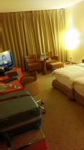 アブジャでは最高級ホテル。さすがヒルトン。