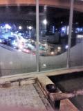 10Fの屋内浴場と屋上の露天風呂は館外丸見え!