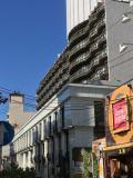 中華街の中のホテル