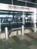 ケアンズ国際空港deリーフラウンジ利用