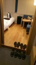 狭いけど女性には居心地の良いホテル