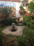 中庭が素敵なホテル