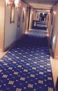 老舗の高級感あるホテル