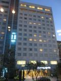 徳島県庁隣りの大きなホテル