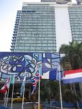 キューバ革命前はアメリカ資本のヒルトンホテルだったところです。