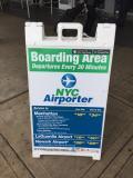 ターミナルから直接エアーポーター乗れない!