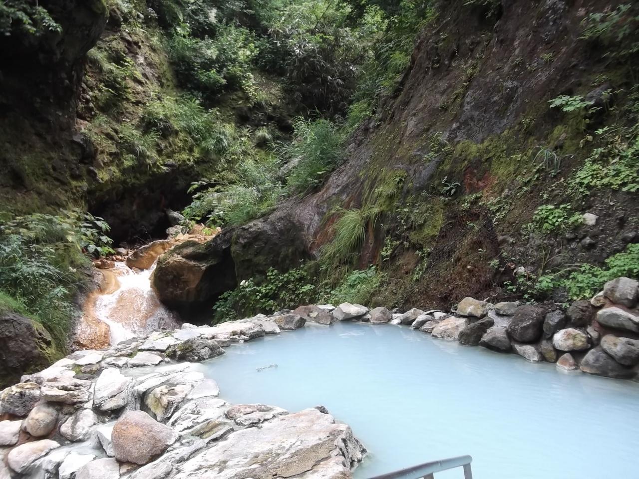 の河原の湯は、秘湯の露天風呂 ...